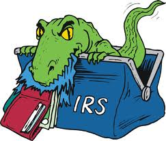 Friendly IRS Critter