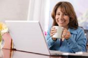 Independent Contractor Working at Home